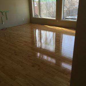 Finished Hardwood Floor
